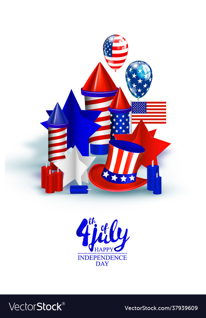 American independence day festive
