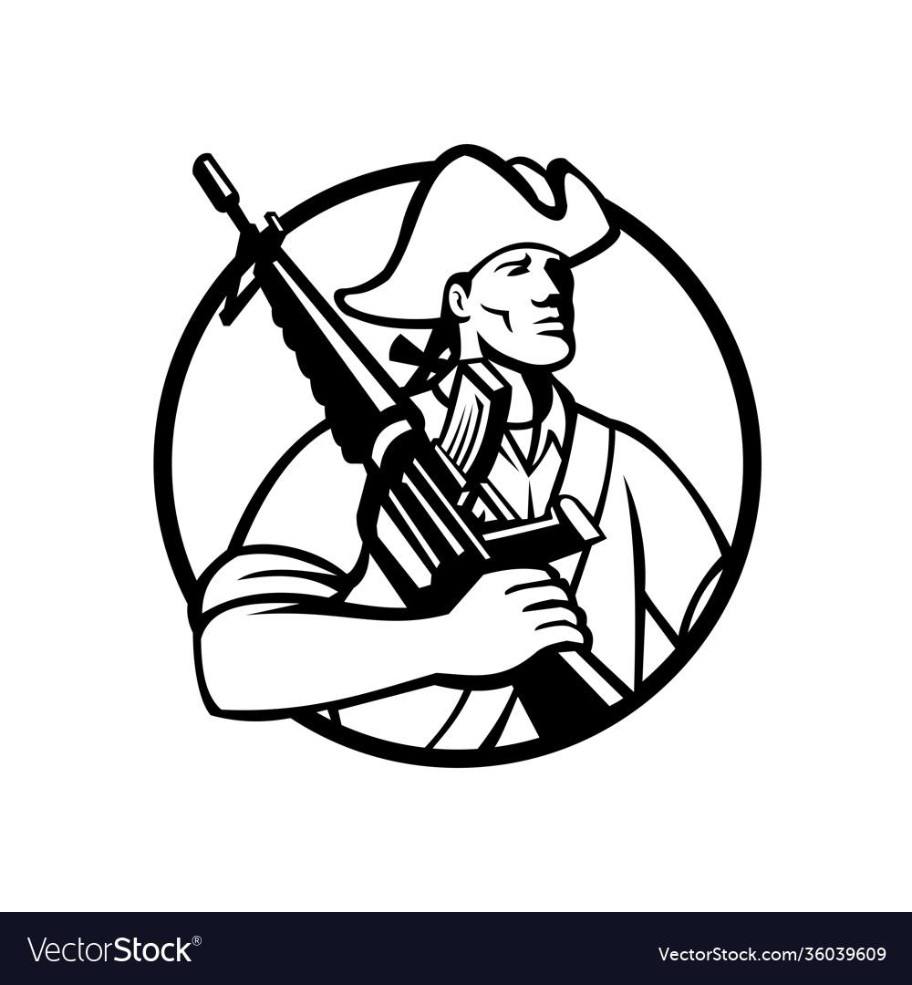 American patriot revolutionary solder