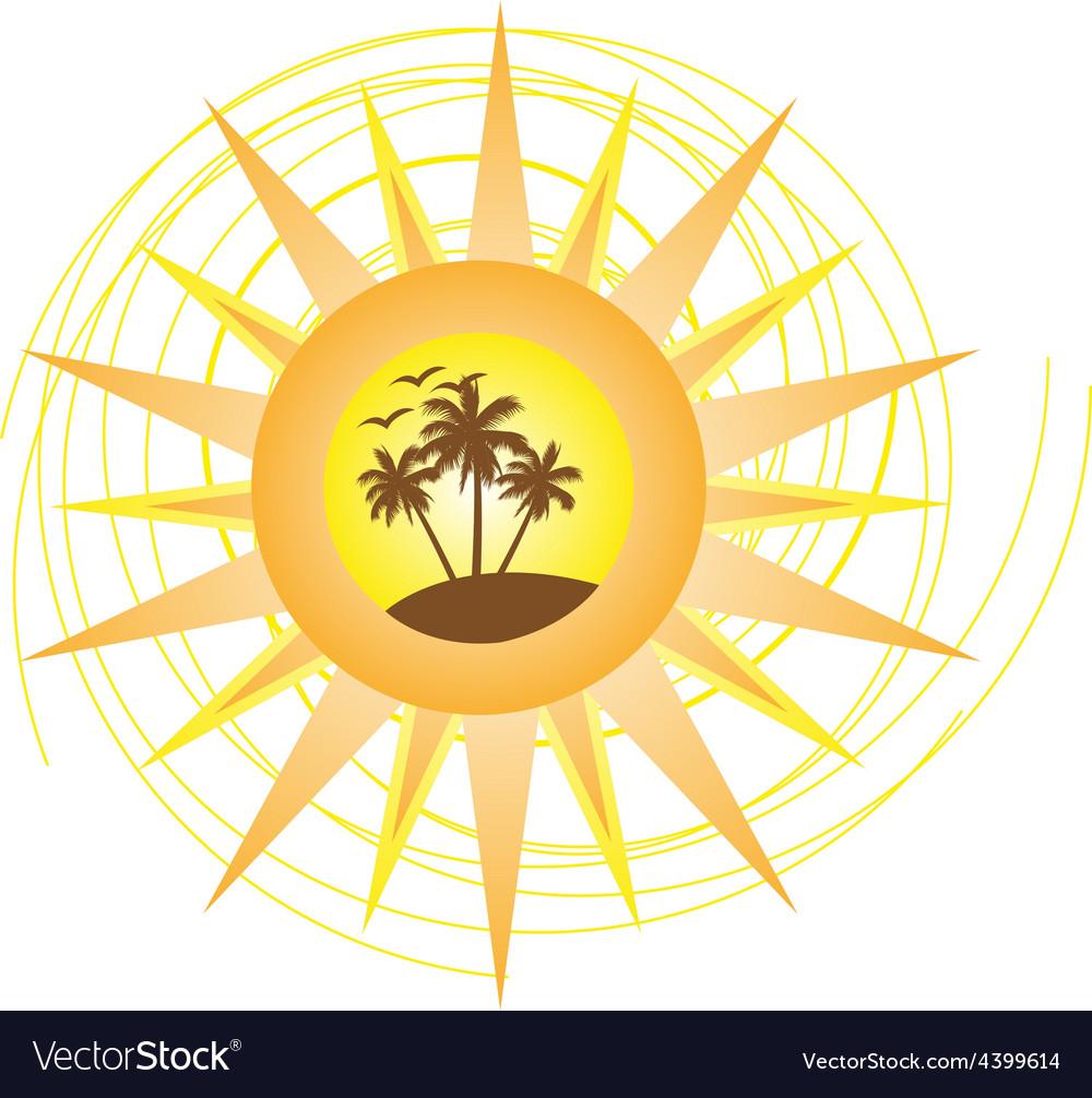 Summer logo sign