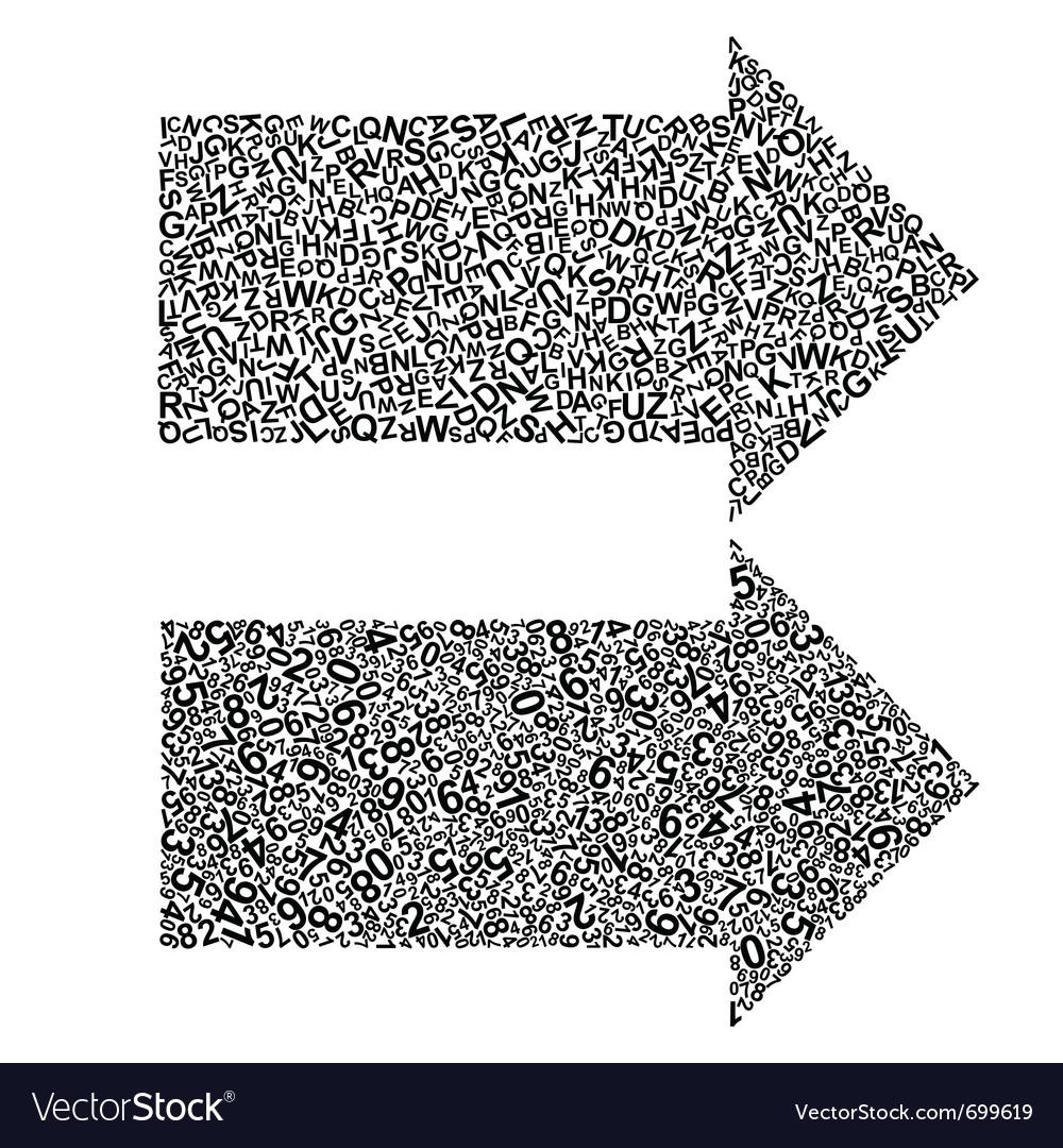 Abstract arrows