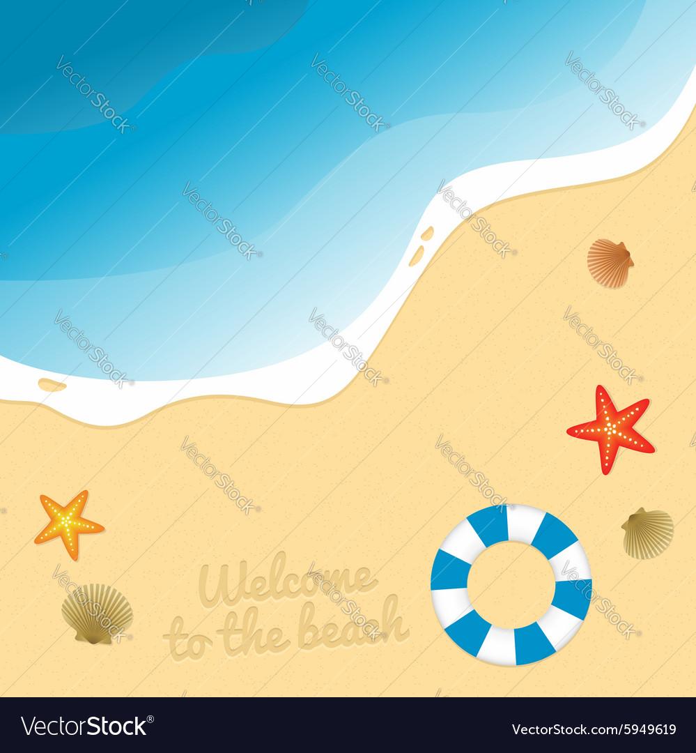 Beach graphic