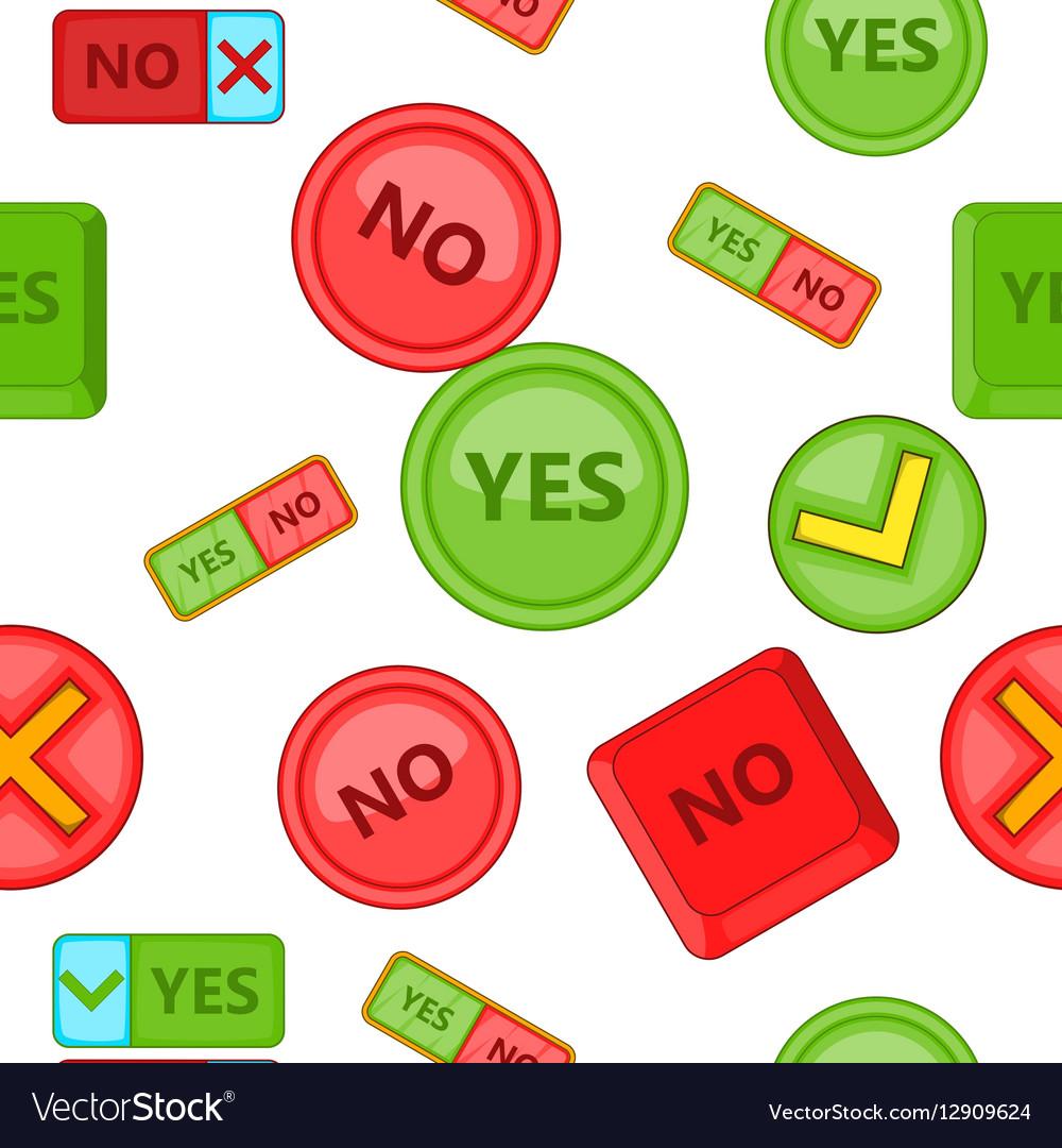 Button pattern cartoon style