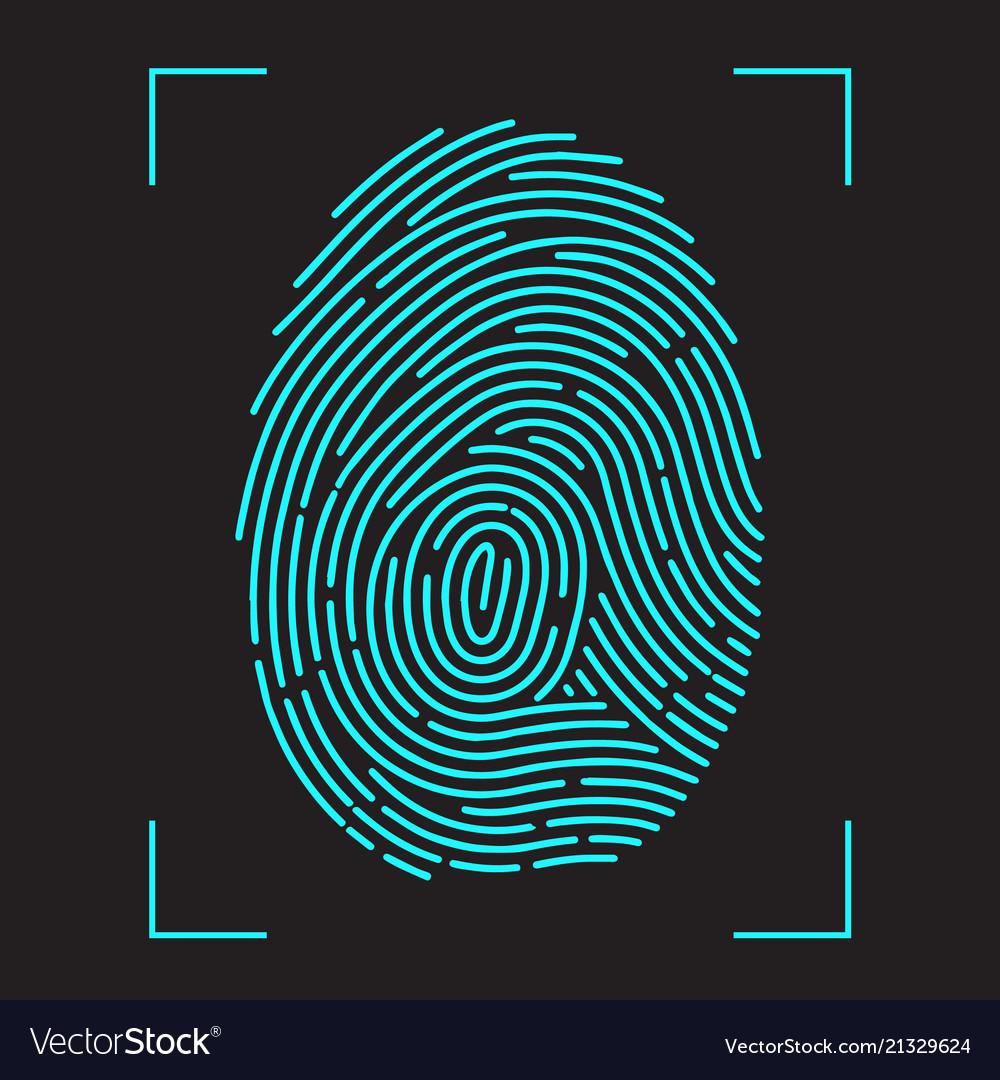 Finger-print scanning identification system