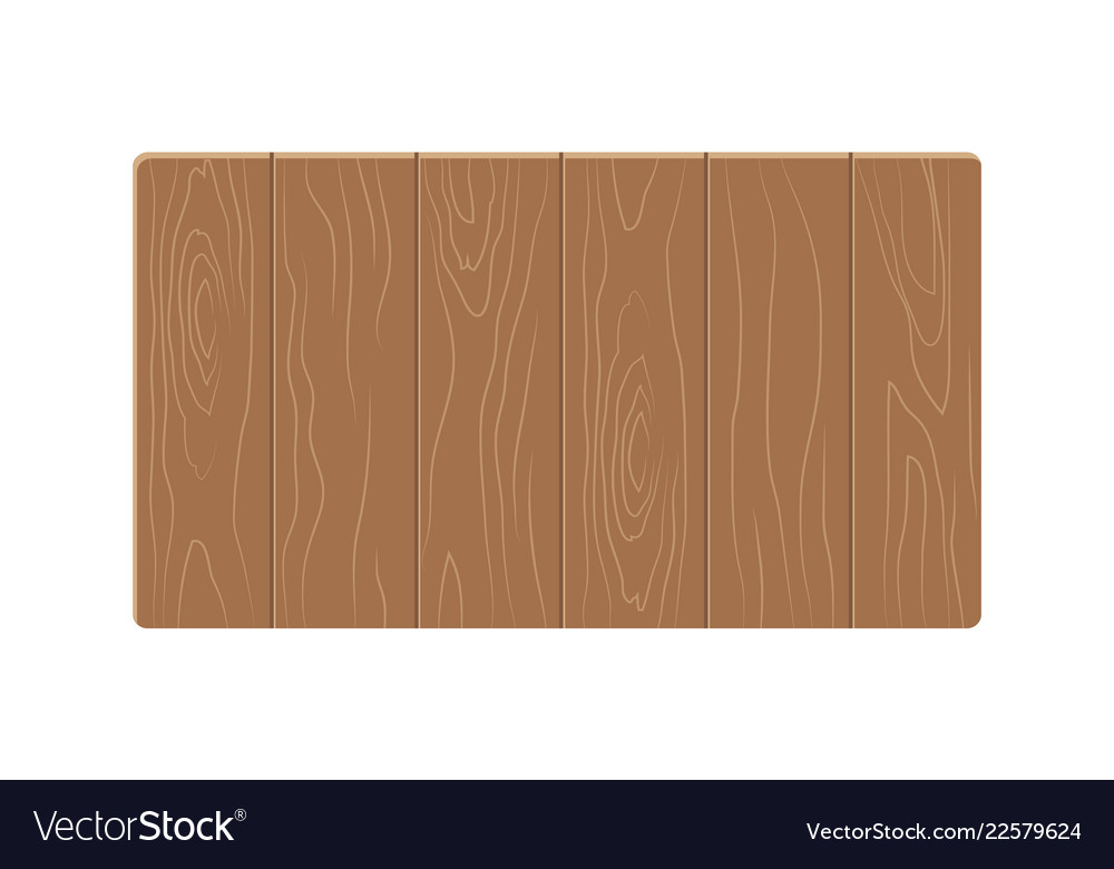 Wooden table template colorful