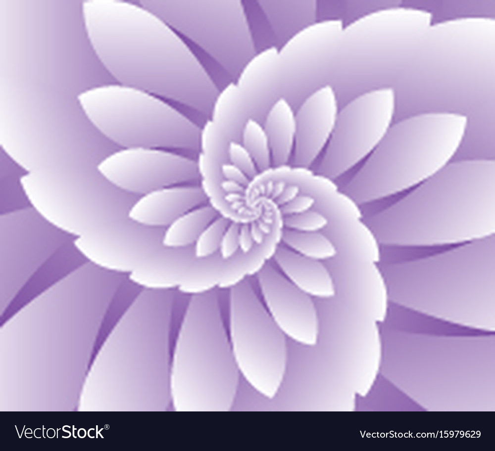 Abstract Purple Floral Background Royalty Free Vector Image