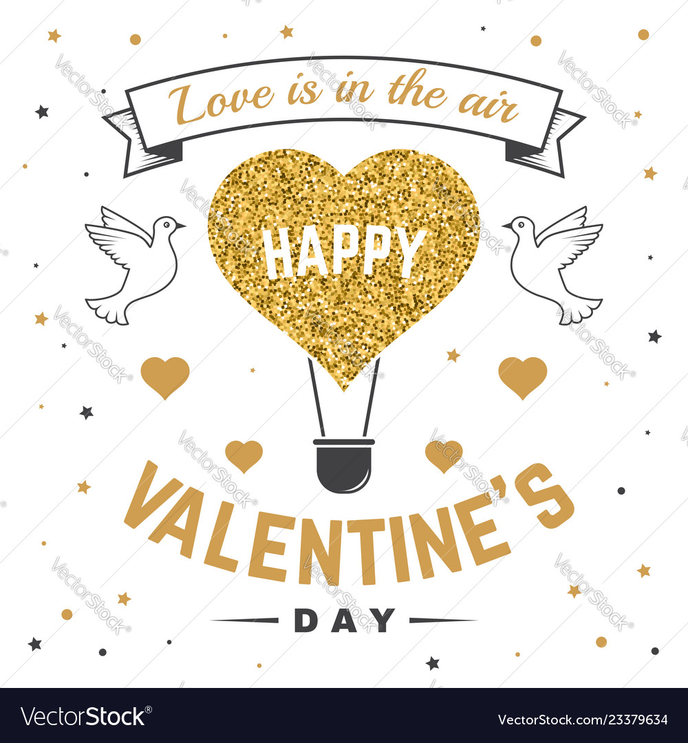 Happy valentines day all you need is love stamp