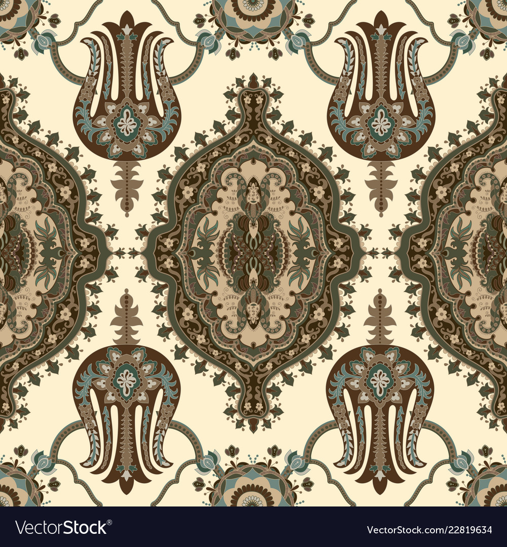 Indian ornament clipart seamless ethnic