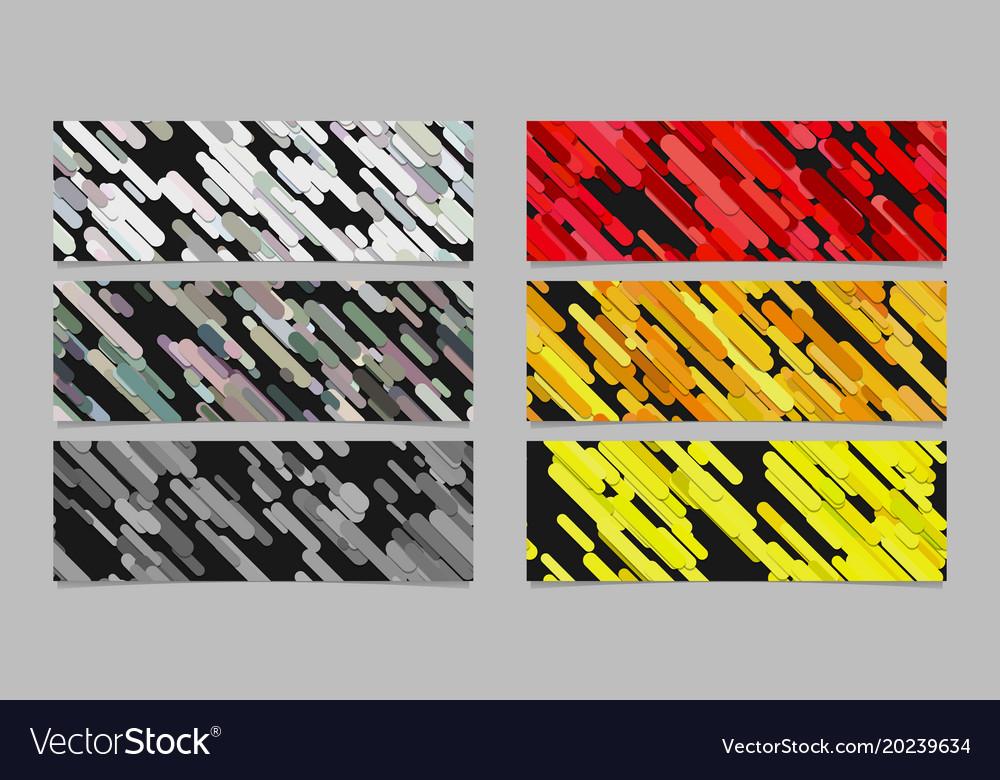 Modern seamless random diagonal stripe pattern vector image