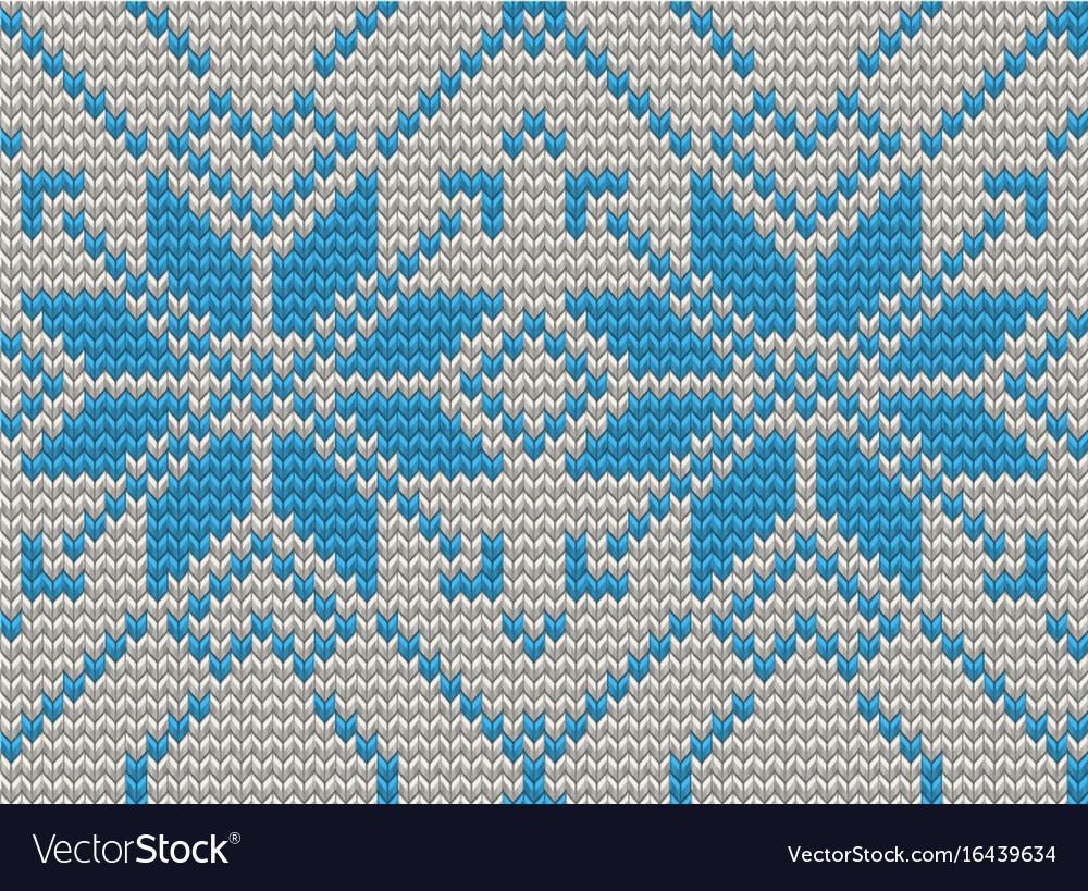 Seamless knitting pattern christmas sweater design