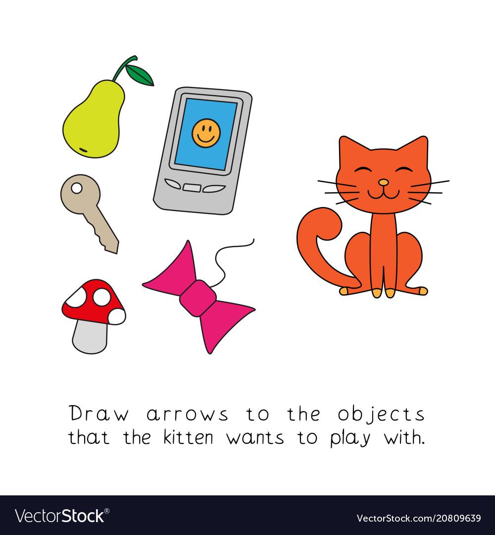 Cartoon cat child game