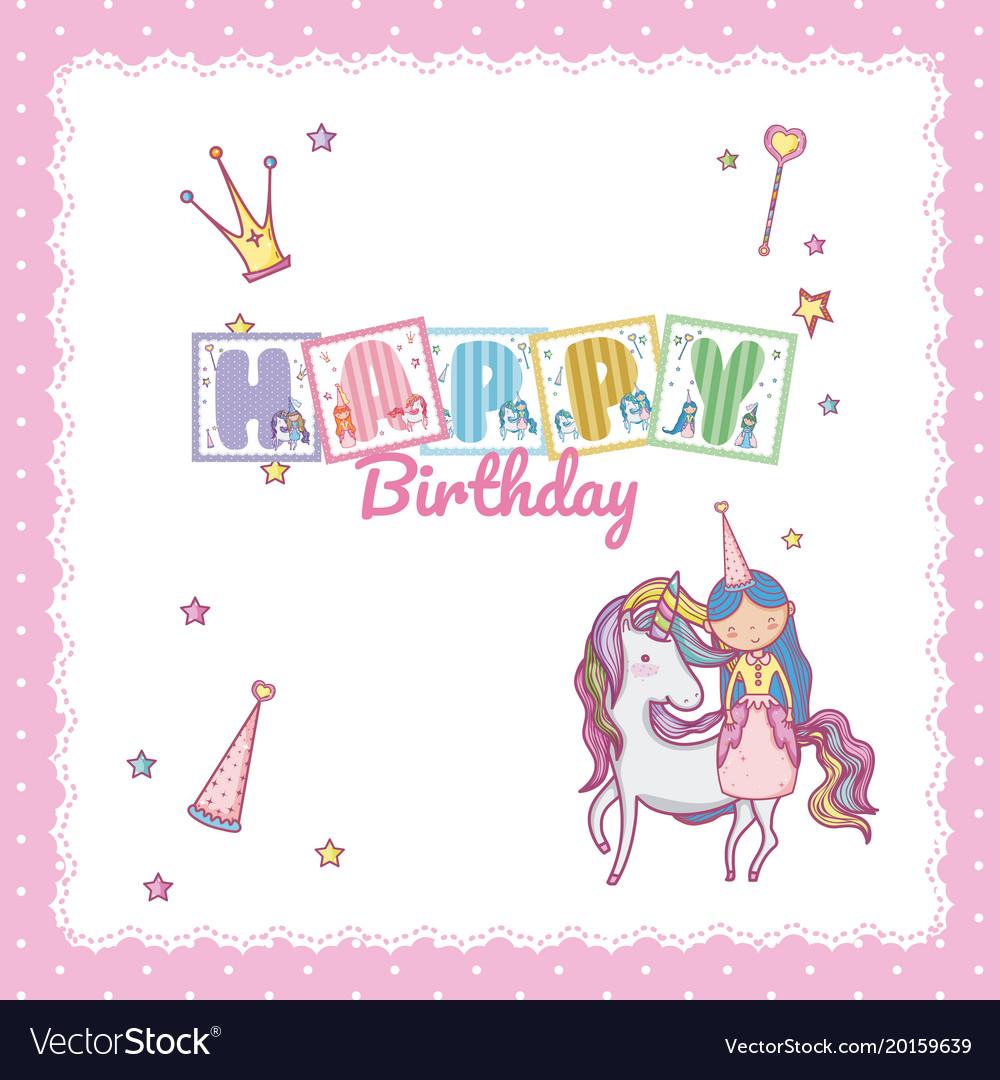Little Prince Unicorn Vector Images 43