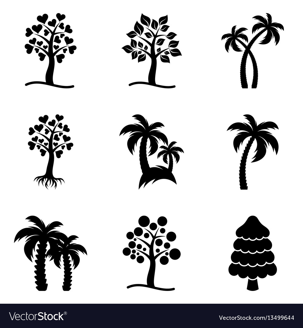 Tree icons collection