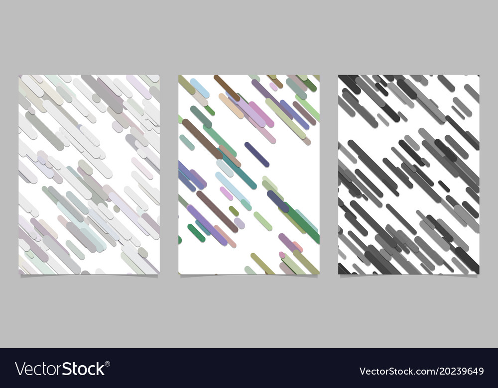 Modern chaotic rounded diagonal stripe background