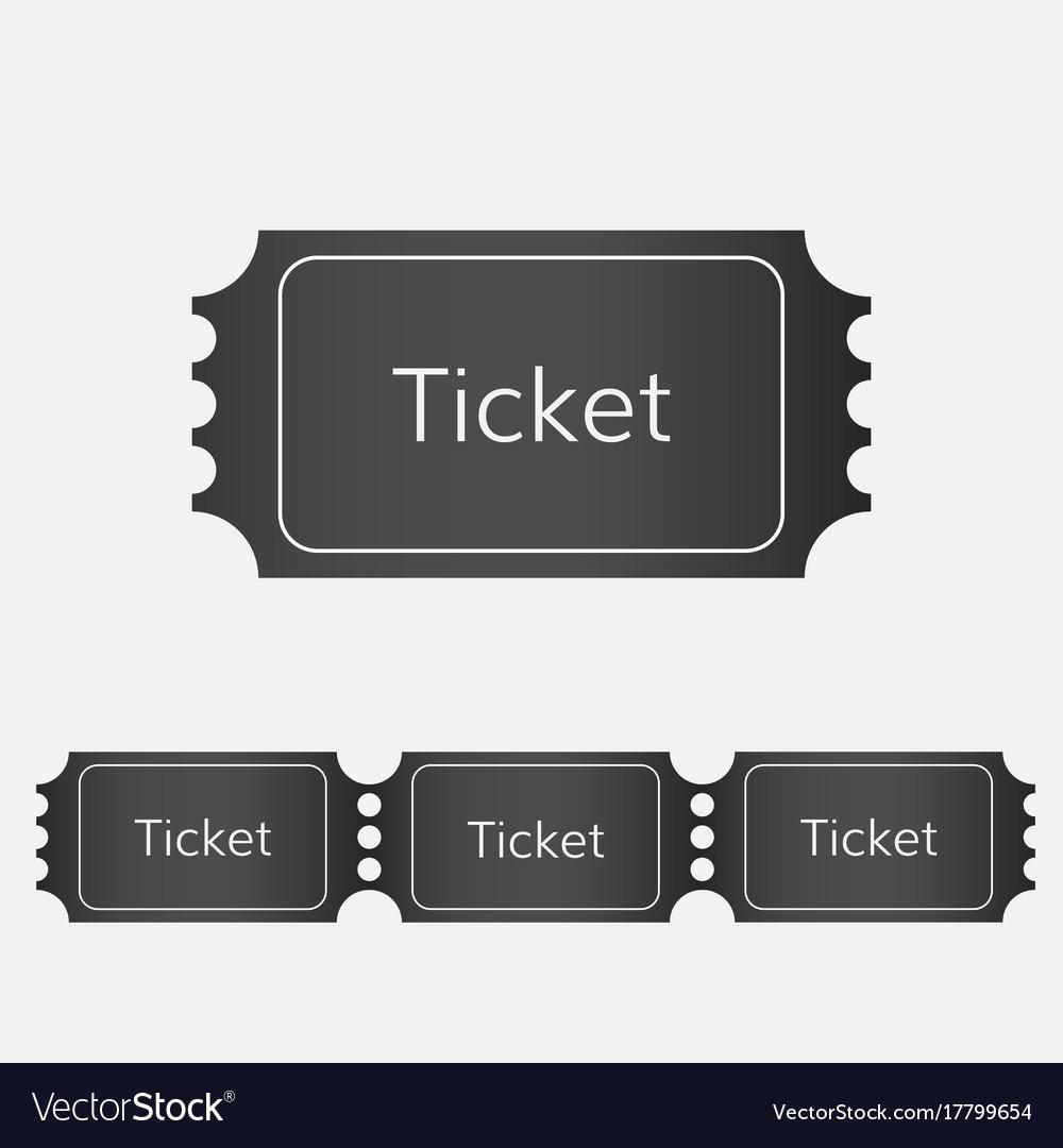 Raffle ticket icon