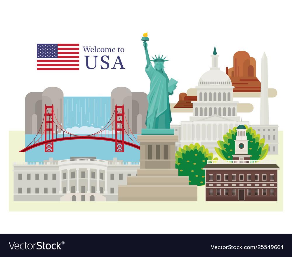 United states america usa landmarks