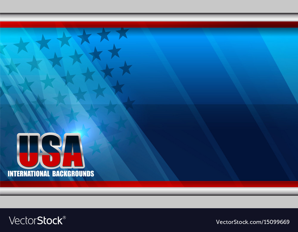 American flag backgrounds template