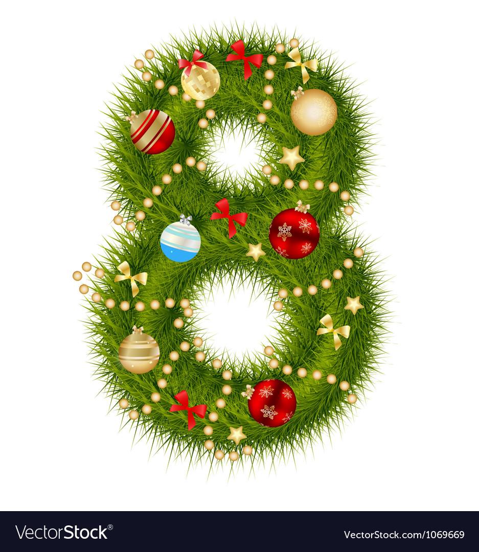 Christmas Alphabet.Christmas Alphabet Number