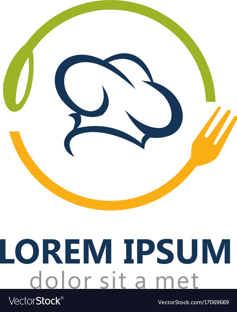 Cook chef restaurant logo