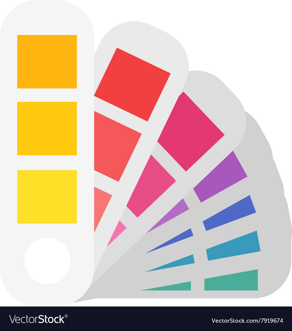 Layout color samples to determine preferences in