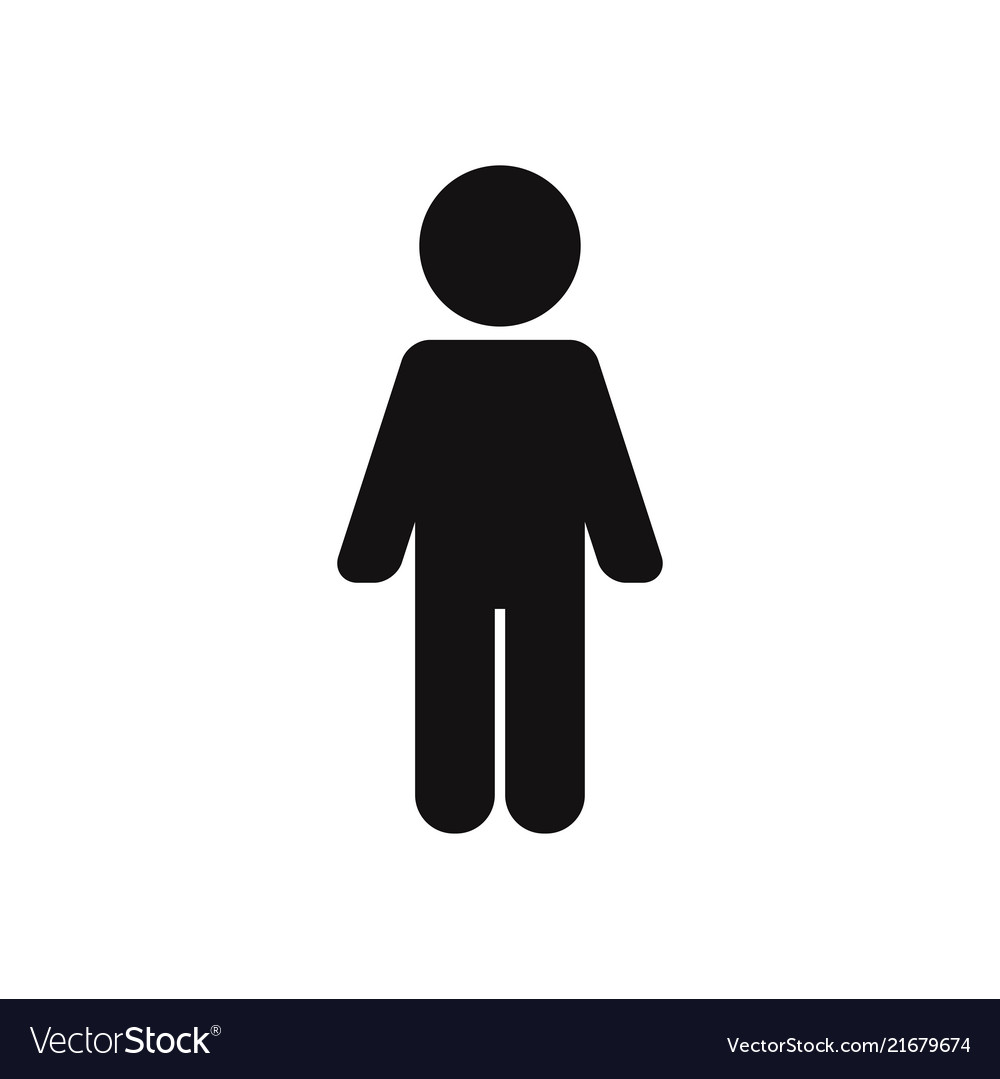 Man standing up icon