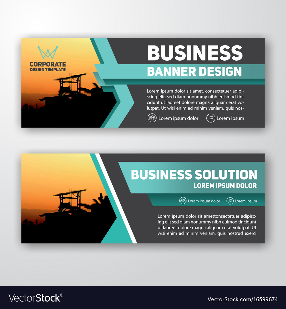 how to make a website banner in word