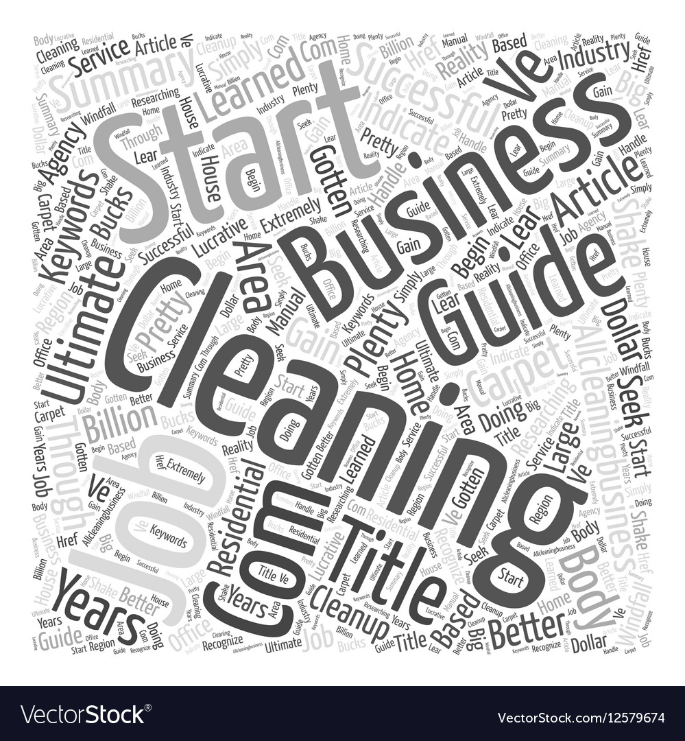 Ultimate Guide to Start a Successful Cleaning