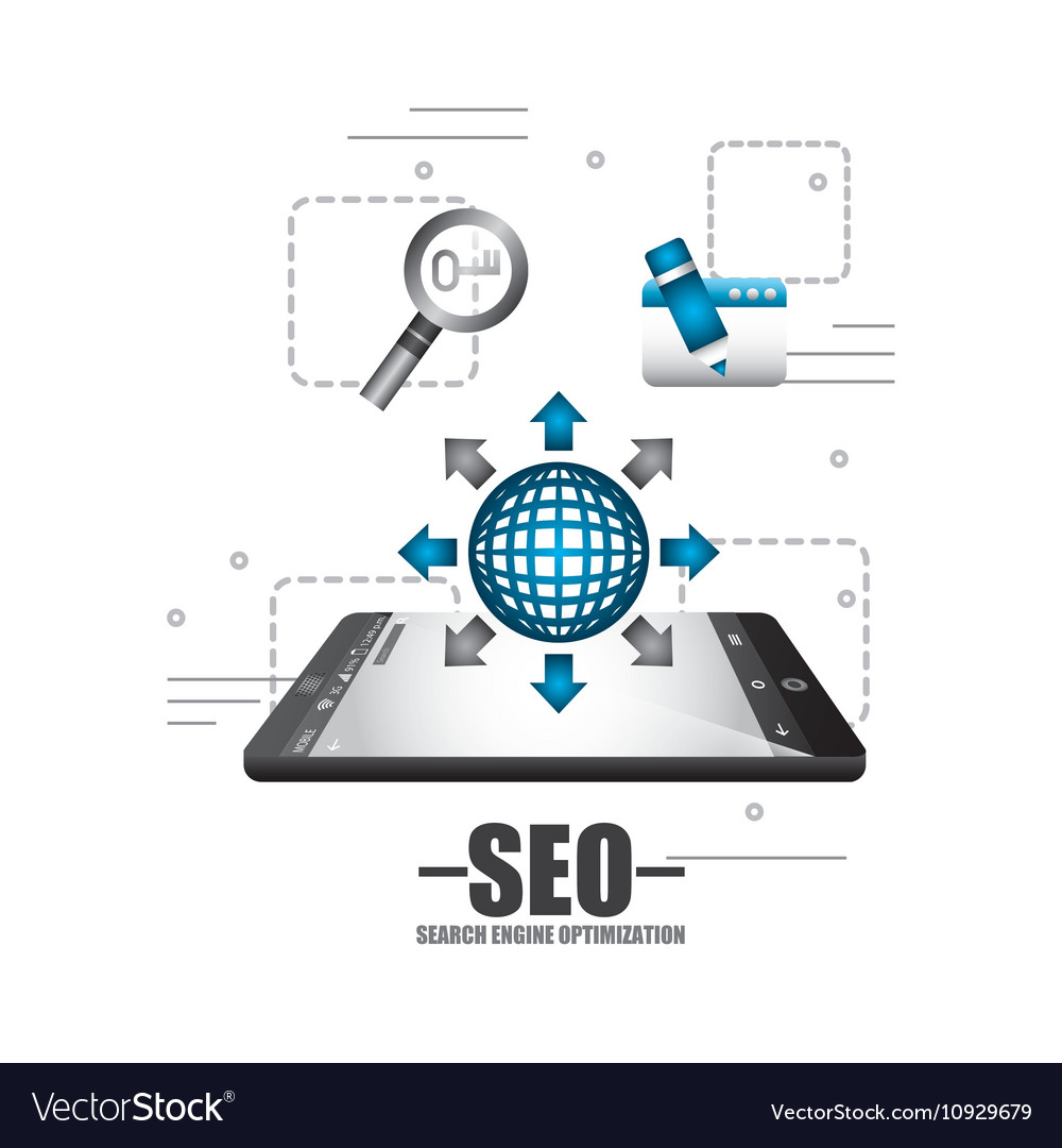 Search engine optimization icons