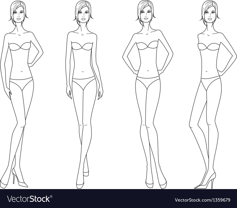 Women fashion figure