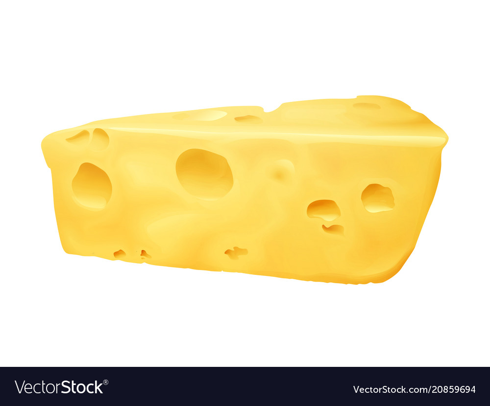 Cheese 3d realistic