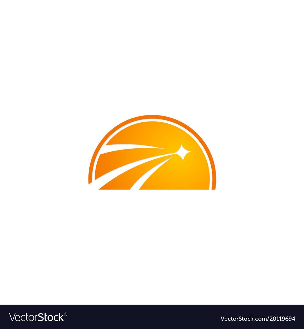 Shine star abstract business logo