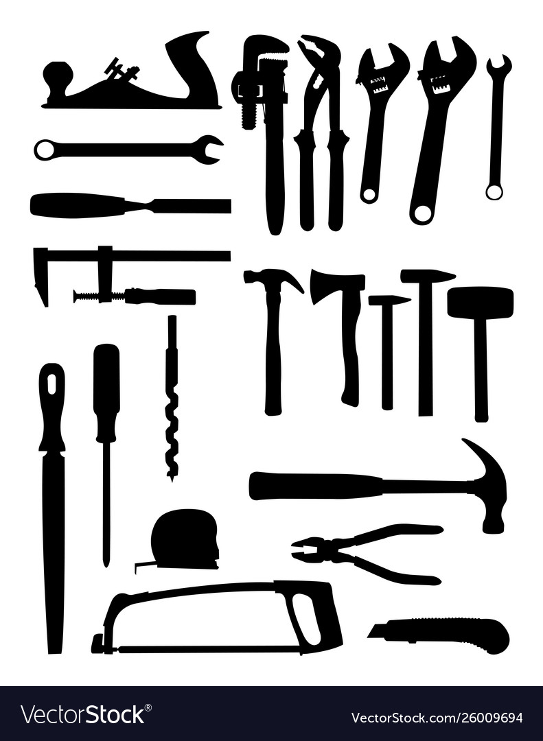Tools silhouette