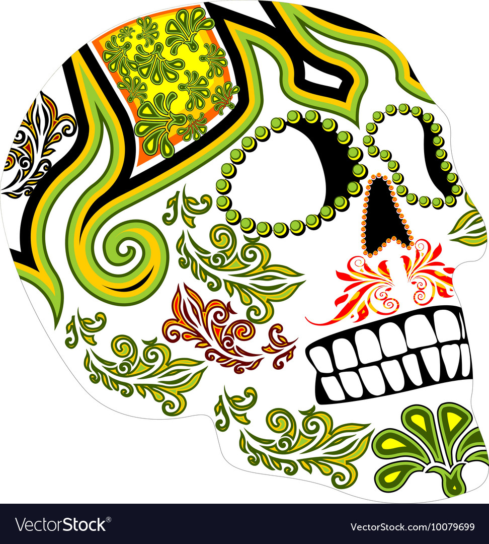 day of the dead mexican festival royalty free vector image