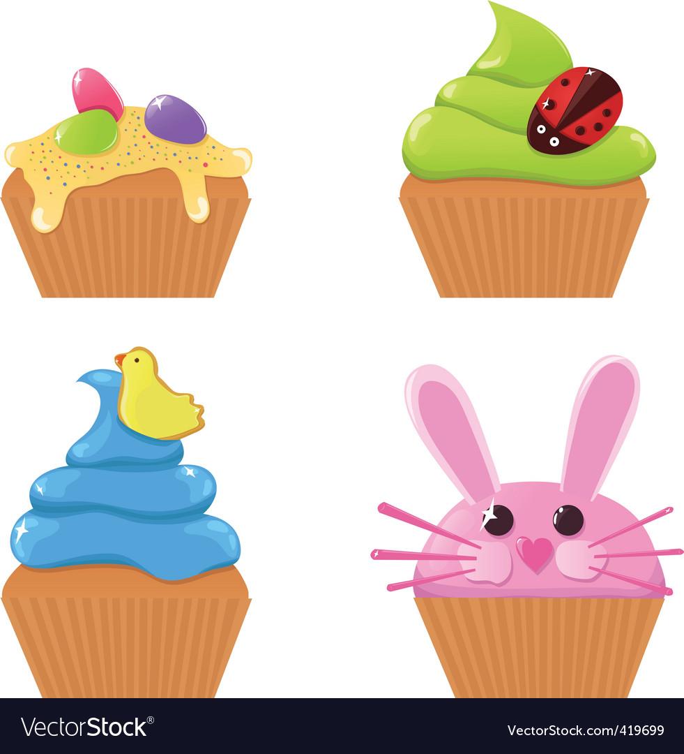 Easter Clip Art Muffin