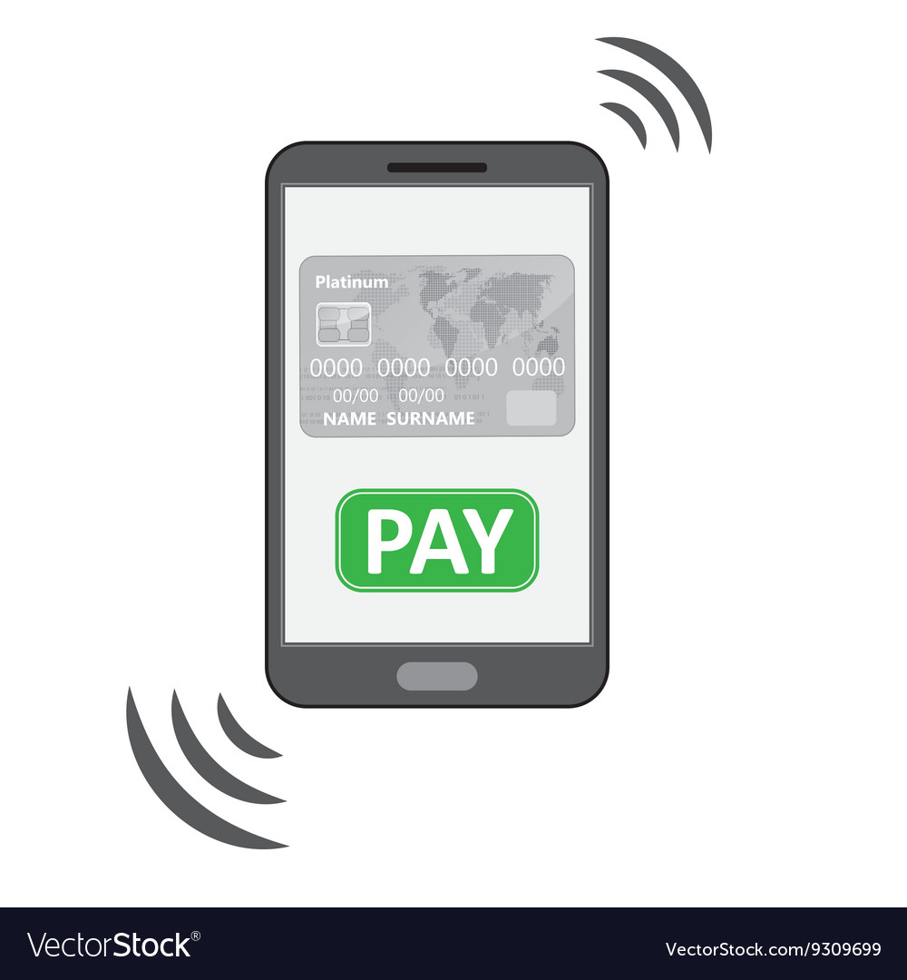 Mobile payments symbol