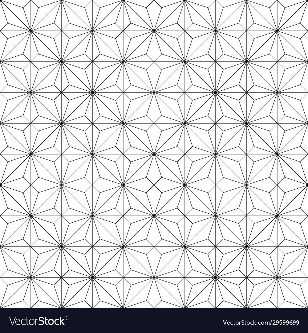 Seamless geometric pattern wind rose rhombuses and