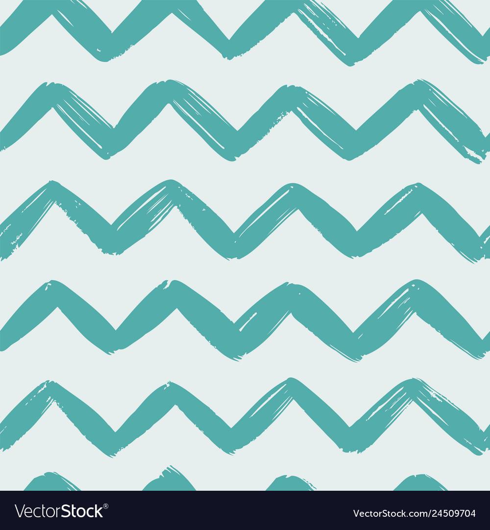 Hand drawn geometric pattern seamless background
