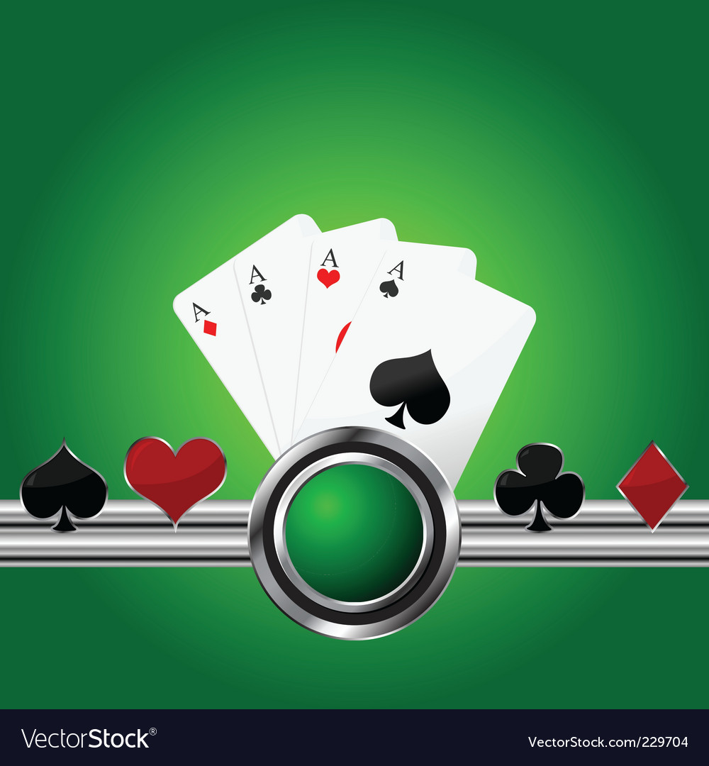 Poker theme background Royalty Free Vector Image