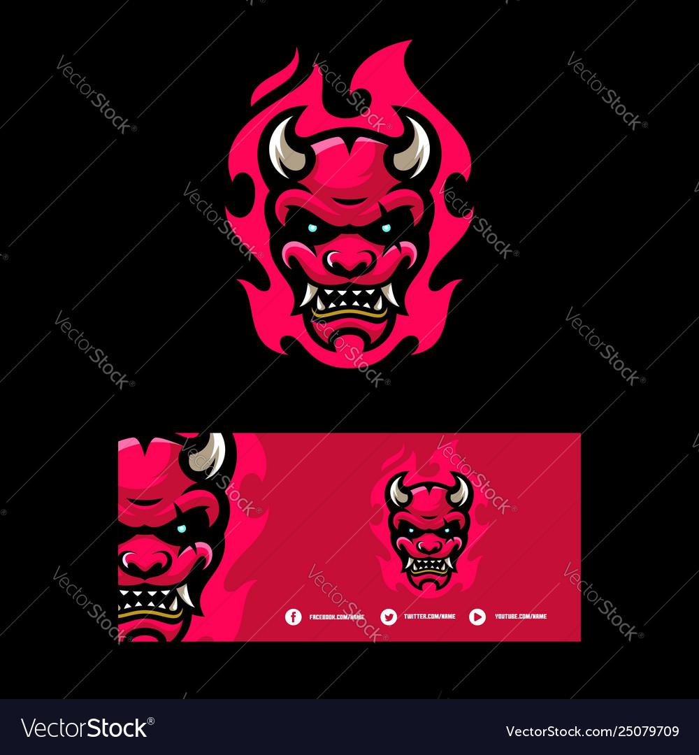 Devil concept template