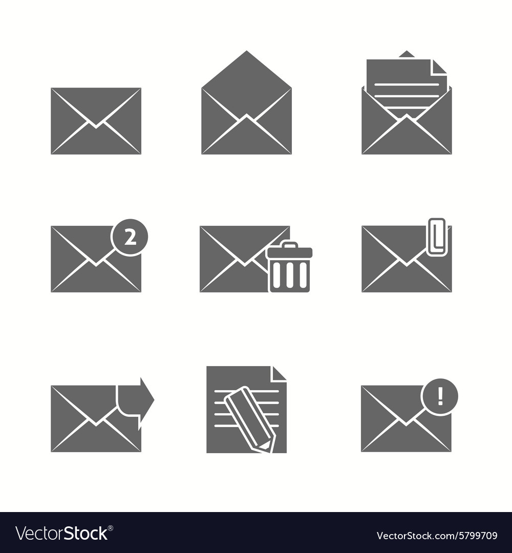 Message Icons Set