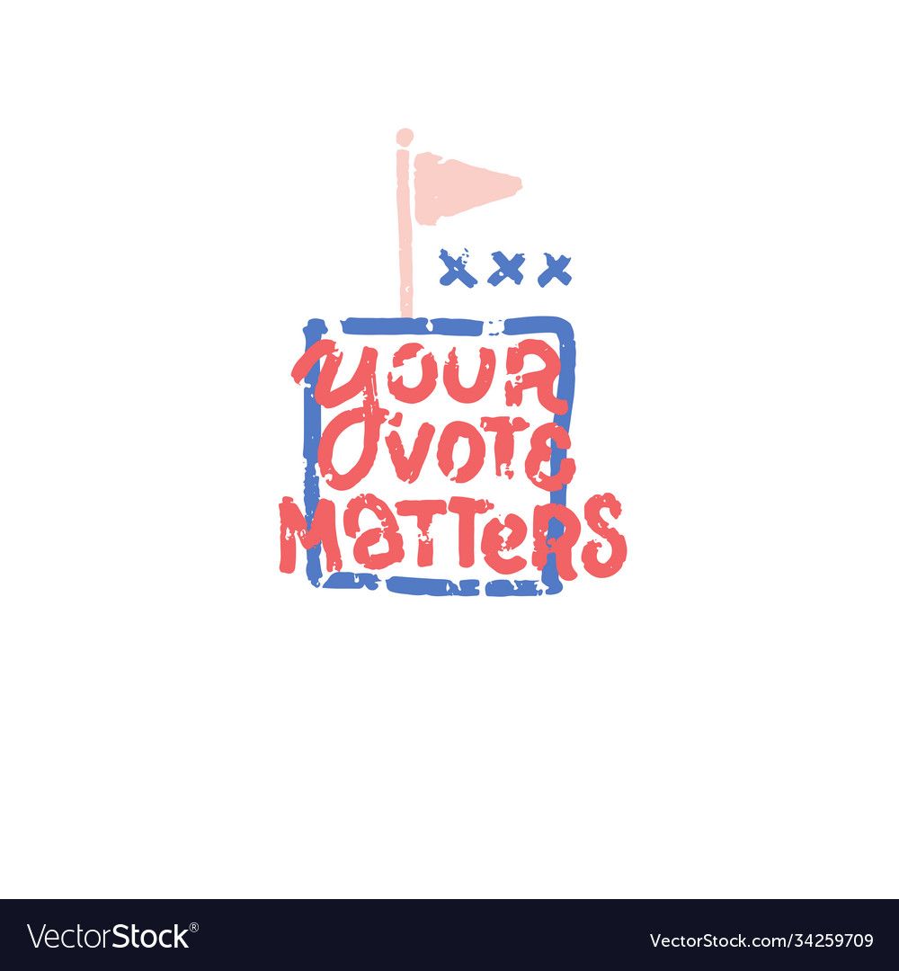 Presidential election 2020 print template your