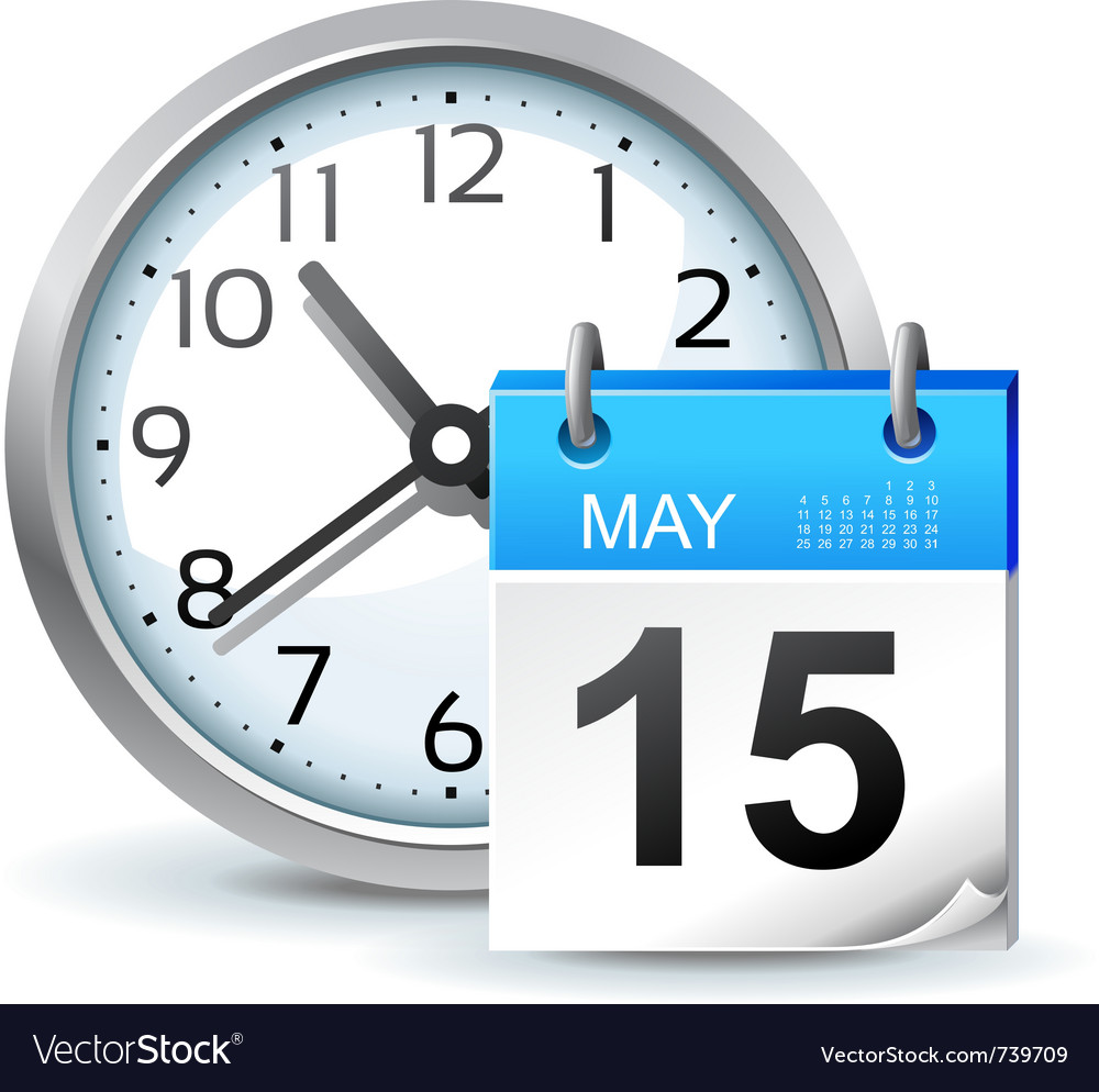 Schedule icon vector image
