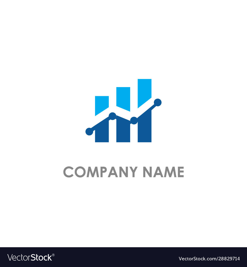 Business graph company logo