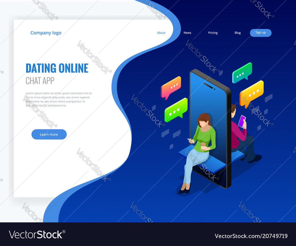 Isometric online dating and social networking
