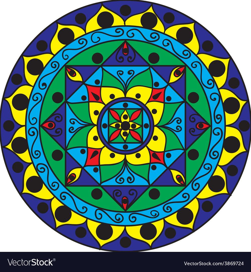 Mandala Multicolored