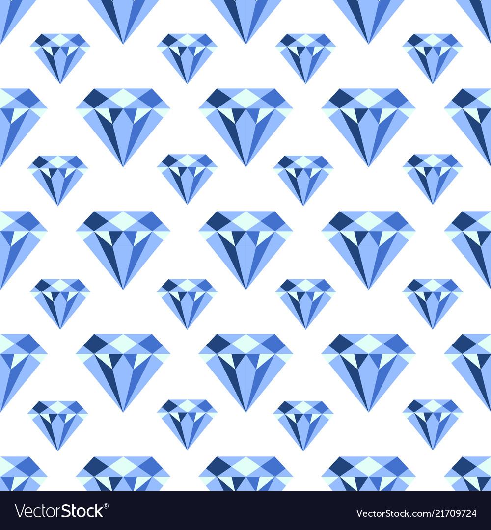 Pattern with diamonds seamless pattern can