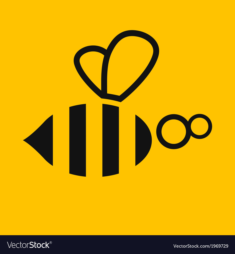 Abstract bee Stock