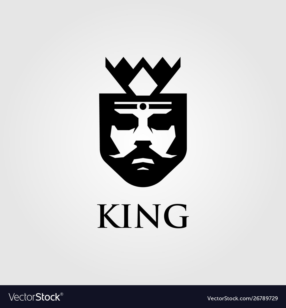 King logo designs with crown