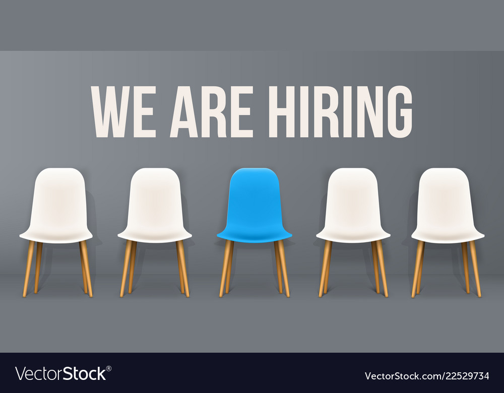 Creative of we are hiring
