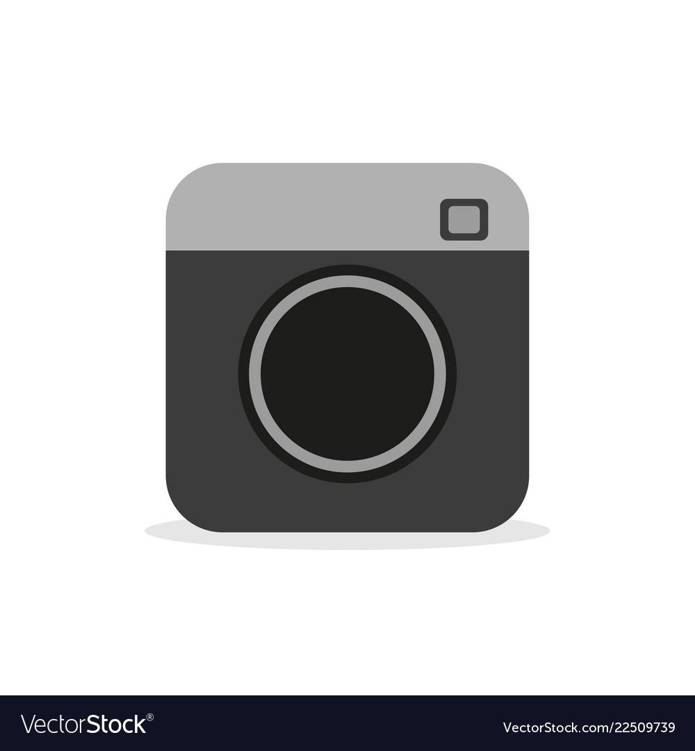Camera - icon camera video and photo hipster