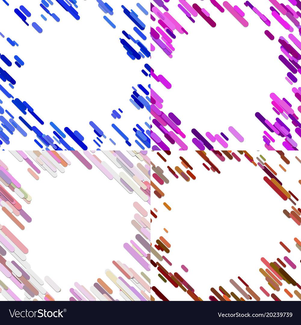 Colorful random diagonal stripe pattern